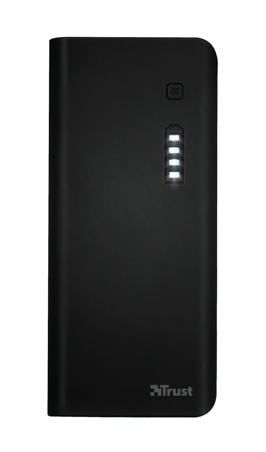 Powerbank Trust PRIMO 10.000 MAH Black