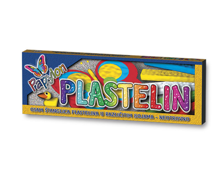 Plastelin Papilon 8/1